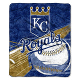 Kansas City Royals Blanket 50x60 Sherpa Big Stick Design Special Order