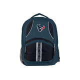 Houston Texans Backpack Captain Style Navy and Black