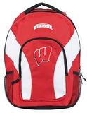 Wisconsin Badgers Backpack Draftday Style Red
