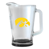 Iowa Hawkeyes 60 oz Elite Glass Pitcher