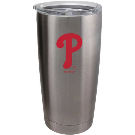 Philadelphia Phillies Travel Tumbler 20oz Ultra Silver