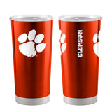 Clemson Tigers Travel Tumbler 20oz Ultra Orange