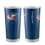 Columbus Blue Jackets Travel Tumbler 20oz Ultra Blue