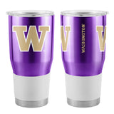 Washington Huskies Travel Tumbler 30oz Ultra Purple