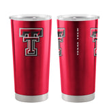 Texas Tech Red Raiders Travel Tumbler 20oz Ultra Red