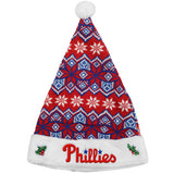 Philadelphia Phillies Knit Santa Hat - 2015