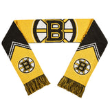 Boston Bruins Scarf - Reversible Stripe - 2016