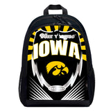 Iowa Hawkeyes Backpack Lightning Style