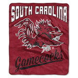 South Carolina Gamecocks Blanket 50x60 Raschel Alumni Design