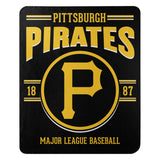 Pittsburgh Pirates Blanket 50x60 Fleece Southpaw Design Special Order