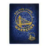 Golden State Warriors Blanket 60x80 Raschel Street Design