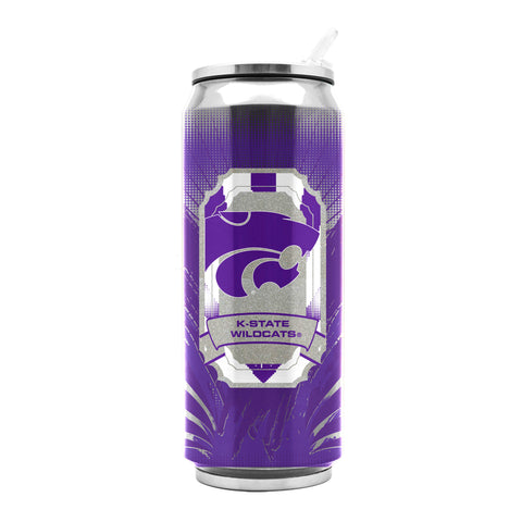 Kansas State Wildcats Stainless Steel Thermo Can - 16.9 ounces