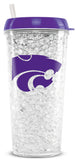 Kansas State Wildcats Crystal Freezer Tumbler