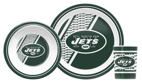 New York Jets 5 Piece Children's Dinner Set