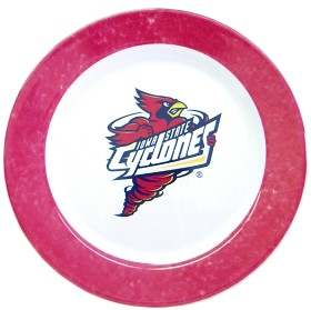 Iowa State Cyclones 4 Piece Dinner Plate Set