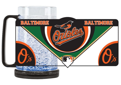 Baltimore Orioles Mug Crystal Freezer Style Special Order