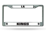 Los Angeles Kings License Plate Frame Chrome