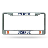 Syracuse Orange License Plate Frame Chrome - Special Order