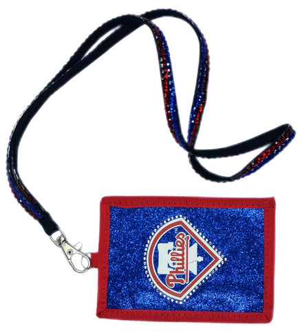 Philadelphia Phillies Wallet Beaded Lanyard Style
