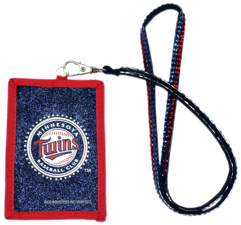 Minnesota Twins Wallet Beaded Lanyard Style