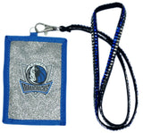 Dallas Mavericks Wallet Beaded Lanyard Style