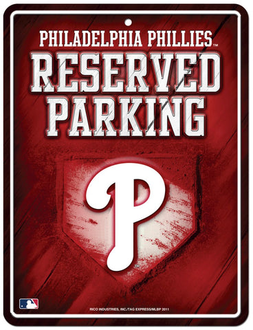 Philadelphia Phillies Sign Metal Parking