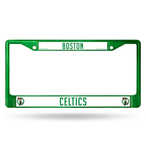 Boston Celtics License Plate Frame Metal Green