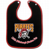 Pittsburgh Pirates Baby Bib - Two-Toned Snap