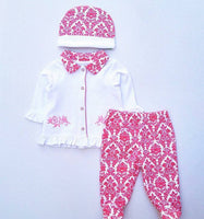 3 Pc Baby Clothes