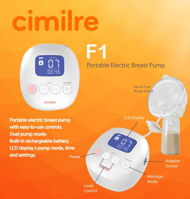 Cimilre F1 Dual Electric Breastpump