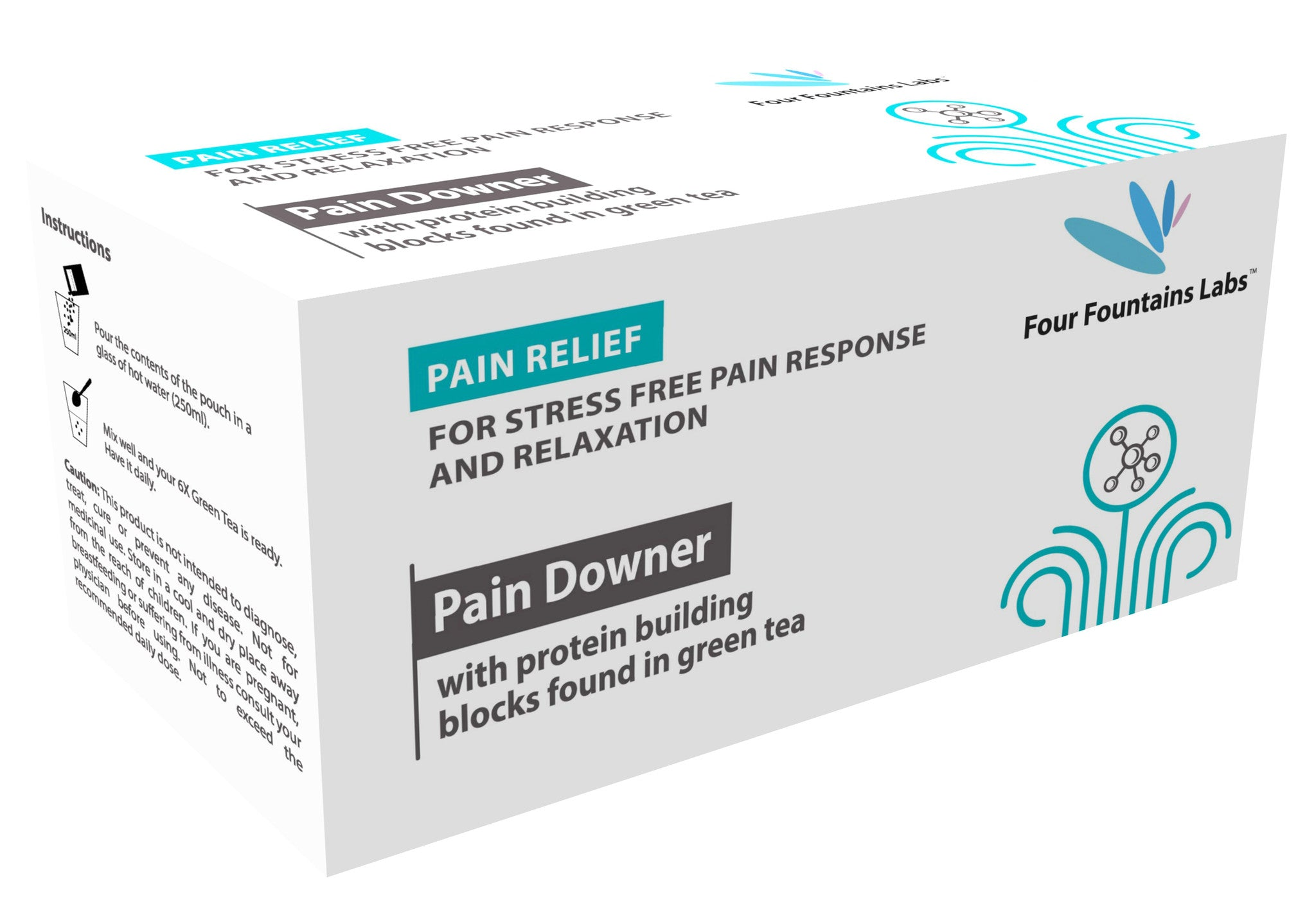 Pain Downer - for reducing Pain and promoting Mental Relaxation (1 Month Supply)