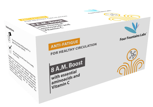8 A.M. Boost - for improving Blood Circulation, reducing Fatigue and promoting Heart Health (1 Month Supply)