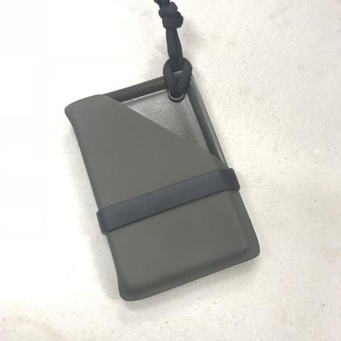 Our PIV Kydex Card Carrier is the answer to keep your cards and bills together…a case for around your neck or in your pocket.