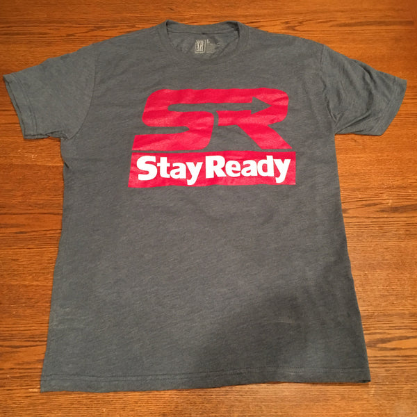 Blue Stay Ready TriBlend Tee