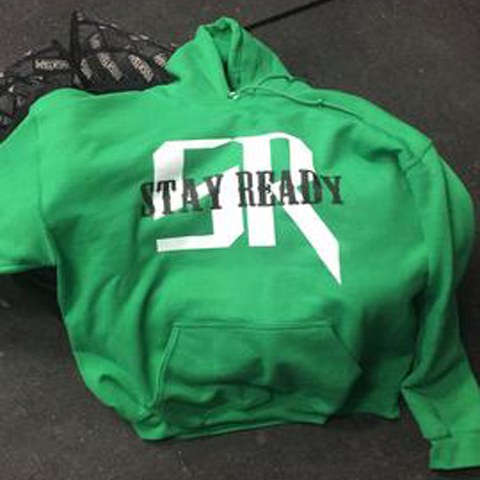 Green Stay Ready Hoodie