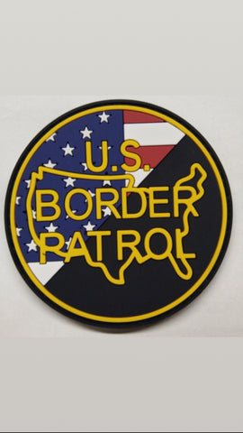 Border Patrol Flag/Emblem Patch