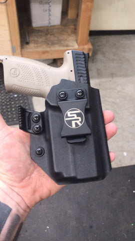 "IWB ""Trey"" Kydex Holster w/Light"