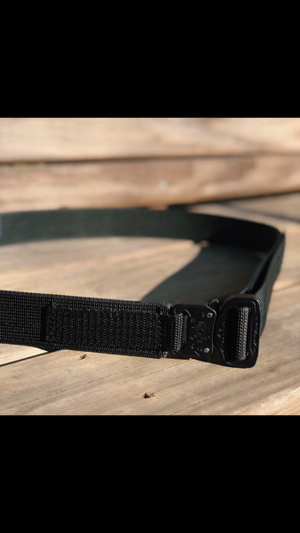 "Stay Ready Everyday Carry  1.5"" Duty Belt with Cobra Buckle"