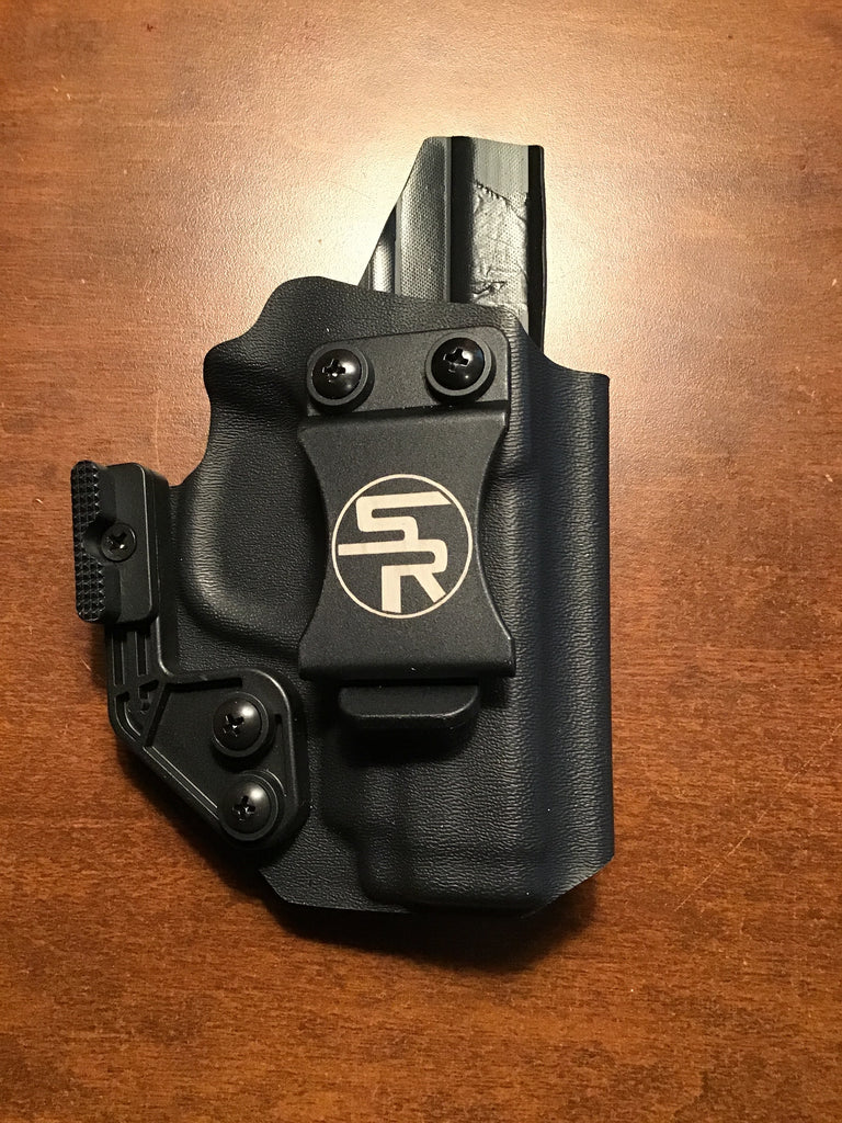 "IWB ""Trey"" M&P Shield 9/40 Kydex Holster in Tactical Black - Discounted"