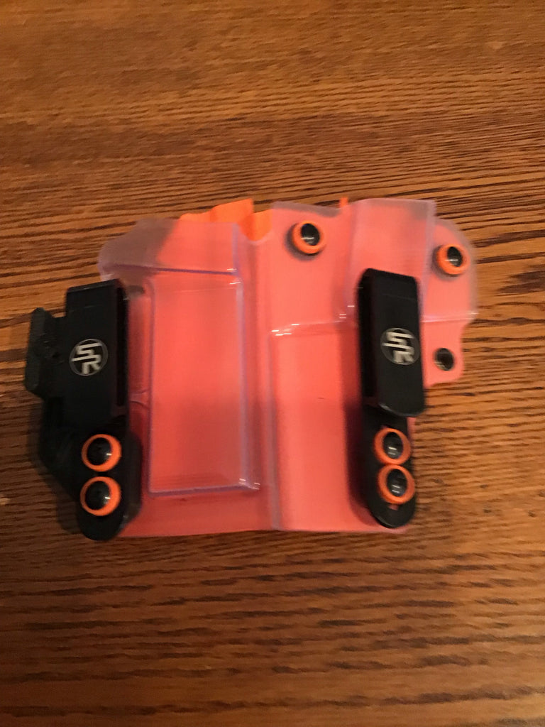 """Full House"" IWB Kydex Holster +  Attached Single Magazine Carrier - Discounted & Ready-to-Ship"