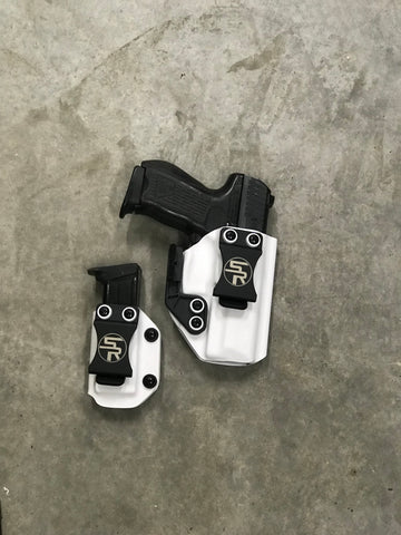 """Killer Combo"" IWB Kydex Holster + Separate Single Magazine Carrier"