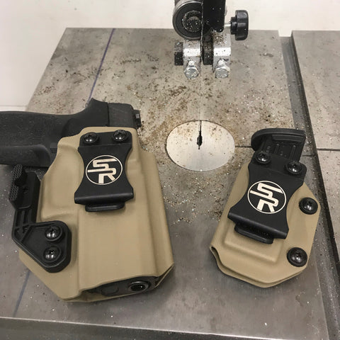 """Trey Killer Combo"" IWB Kydex Holster + Separate Single Magazine Carrier"