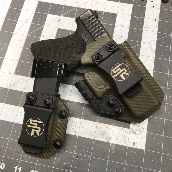 """Trey Killer Combo"" IWB Kydex Holster + Separate Single Magazine Carrier - Stay Ready Gear LLC™"