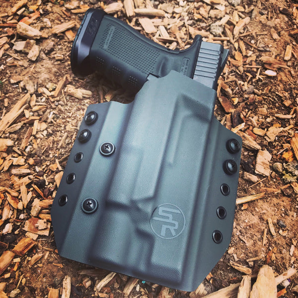 "OWB ""Deuce"" Kydex Holster w/Light"