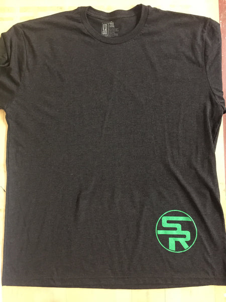 Bleed Green Black TriBlend Tee