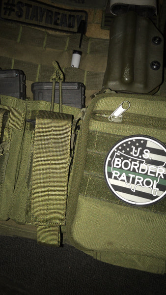 Border Patrol Thin Green Line Patch - Stay Ready Gear LLC™