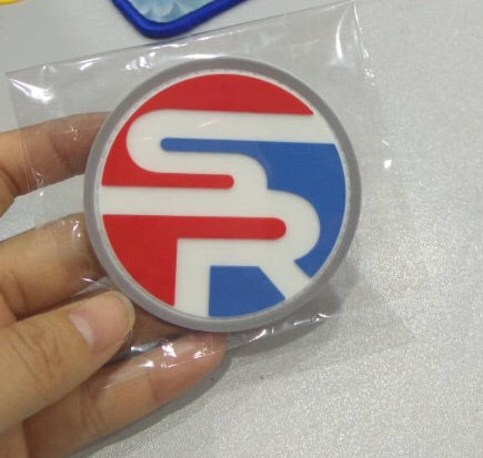 Stay Ready Logo Patch Red White & Blue