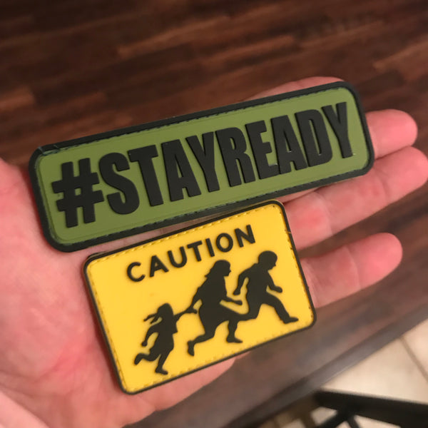 Caution! US Border Patrol Street Sign Patch