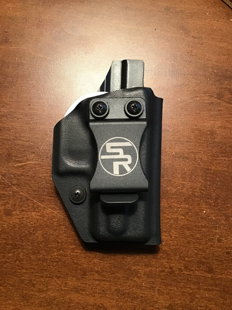 IWB Glock 43 Black Kydex Holster