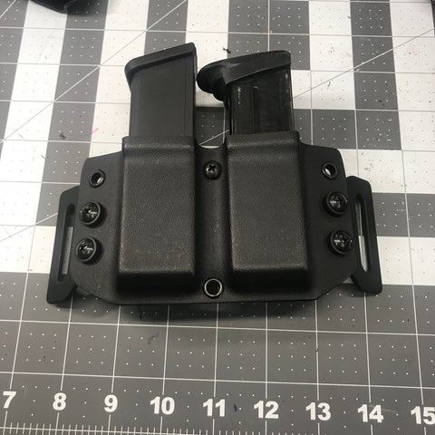OWB Double Kydex Magazine Carrier - Stay Ready Gear LLC™